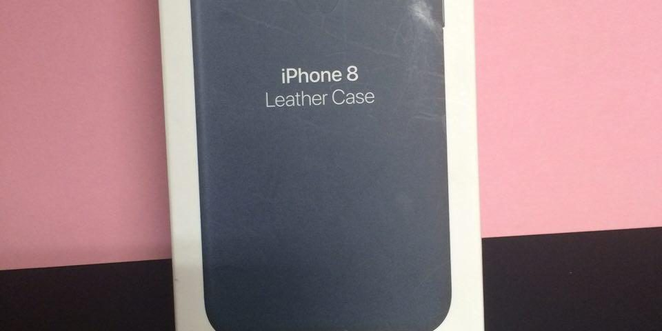 Cover originale Apple per iPhone 8